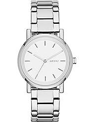 DKNY Damen-Armbanduhr Digital Quarz Edelstahl NY2342
