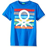 United Colors of Benetton Erkek Çocuk Tişört Benetton Logo Yaz Tshirt