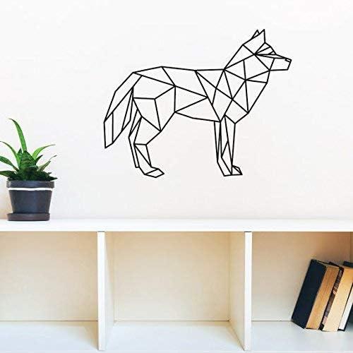 YMWLKE YMWLKE YMWLKE Adesivi murali Adesivo da Parete Creativo Geometrico Lupo Animale 58cmx42.9cm by | Conosciuto per la sua buona qualità  | Prezzo di liquidazione  | Prima i consumatori  81b70b