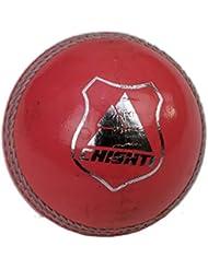 Cricket pelotas de cuero naranja MENS X 6bolas tamaño 5,5OZ...