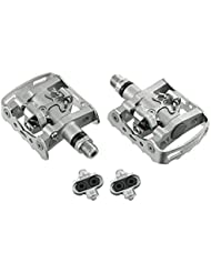 Shimano SPD Pedal PD-M324 Set mit Cleatset PD-M 324 Klickpedal Wendepedal
