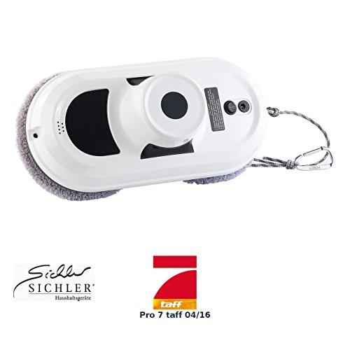 *Sichler Haushaltsgeräte Haushaltshelfer: Intelligenter Fensterputz-Roboter PR-030 V2 (Fenster Robot)*