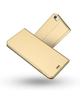Funda iPhone 6 Plus,Funda iPhone 6S Plus,Radoo® Slim Case de Estilo Billetera Carcasa Libro de Cuero,Carcasa PU...