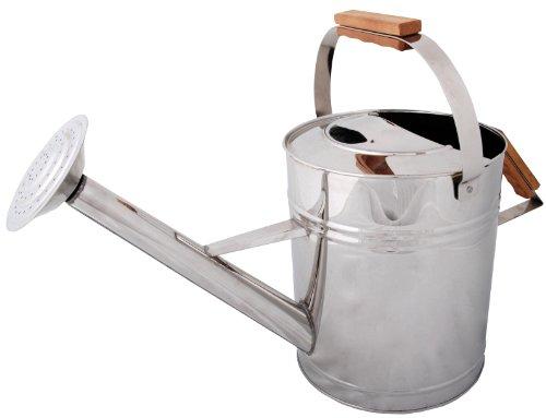 esschert design - arrosoir en inox 8 litres