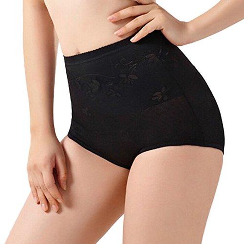 vlunt Damen Frauen fördert das Schwitzen Taille Training Slimming atmungsaktiv Elastische Korsett Schwarz