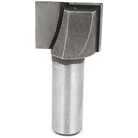 1,27 cm x 2,54 cm caña recta limpieza inferior puntas 19 mm Profundidad de corte