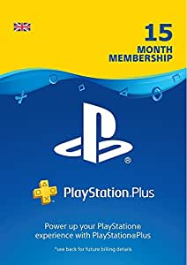 Prime Day Offer: PlayStation Plus 15 Month Membership | PSN Download Code - UK account