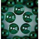 EFCO 6 mm 110-Stück Holzperlen, dunkles Grün