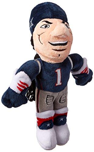 Forever Collectibles NFL New England Patriots Maskottchen Plüsch, blau (Nfl Plüsch-fußball)