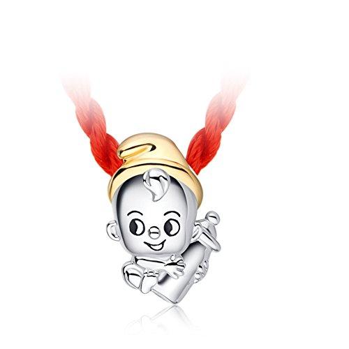Neonato bambino bambini925Ciondolo in argento/ collana del
