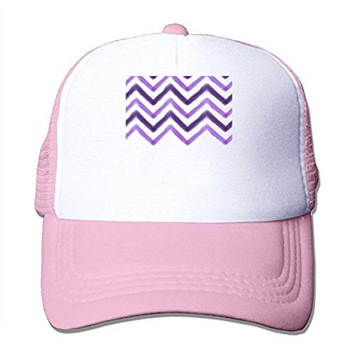 Striped Watercolor Washing can Adjust The Cap Style for Adult - Striped Mesh Back Cap