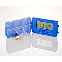 Timer Alarm Pillendose Pillenbox Tablettenbox Medikamentenbox Tabletten Box preisvergleich bei billige-tabletten.eu