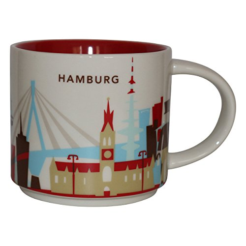Starbucks City Mug You Are Here Collection Hamburg Kaffeetasse Coffee Cup