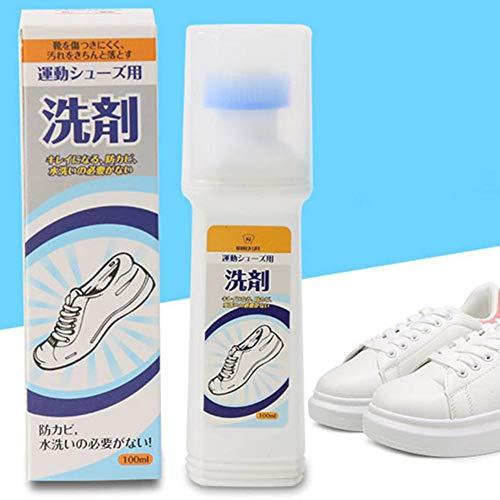 Kit di pulizia scarpe, scarpette da scarpe bianche Scarpe da pulizia scarpe da sneaker agente sbiancante, scarpe da ginnastica artefatto sneakers pulizia a secco pulizia decontaminazione brillantante