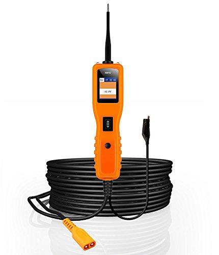 KZYEE KM10 Automotive Strom Stromkreis Boden Prüfer Tester Digital Multimeter Voltmeter Aktivierung Komponenten Werkzeuge für 12 V zu 24 V Stromversorgung 6 Meter Kabel