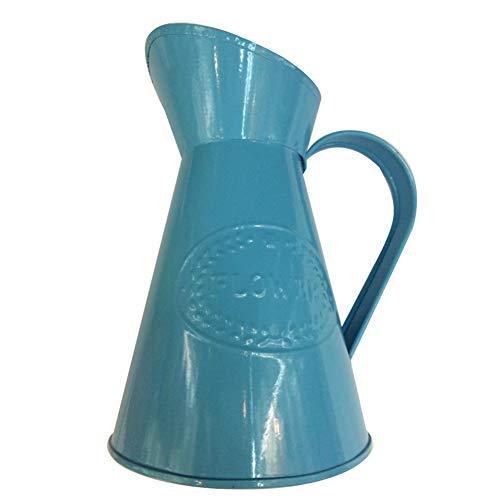LAAT Vaso di Fiori in Metallo Vaso da Fiori Bottiglie per Piante Fiori Decorazione di Giardino Casa Matrimonio Decorazione Casa Decorazioni da tavolino