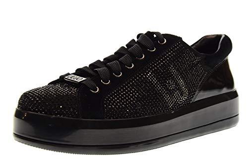 Liu Jo Chaussures Femme Baskets avec Plateforme B68019 TX011 Kim 07 Light UP