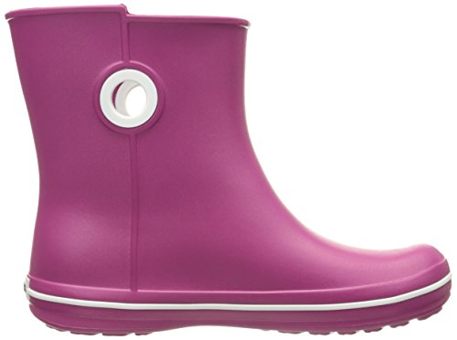 Crocs Jaunt Shorty Boot W, Stivali, Donna Rosso (Berry)