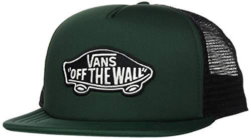 Imagen de vans_apparel classic patch trucker  de béisbol, verde darkest spruce ydx , talla única para hombre
