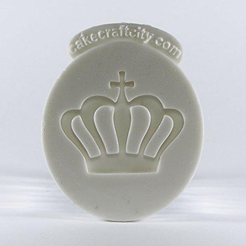 Princess/Queen Krone Zuckerguss Kuchen oder Cupcake Dekoration Silikonform