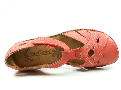 Josef Seibel Damen Rosalie 29 Geschlossene Sandalen Rot (Hibiscus)