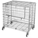 Ballwagen, abschließbar, Füllhöhe 870 mm - Gepäckwagen