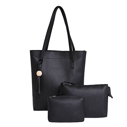 Originaltree, Borsa a spalla donna, Grey (Grigio) - 41672 Black