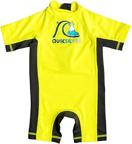 Quiksilver-Maglietta per bambini a bolle Surft Giallo di sicurezza