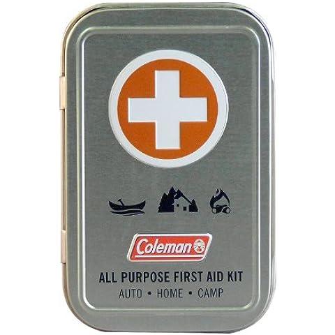 Coleman Multiuso First Aid estaño (26 piezas), Metálico