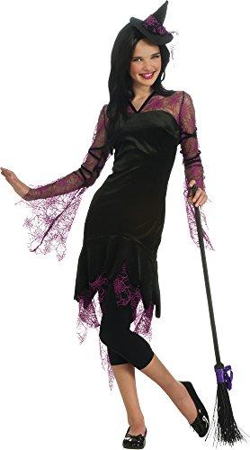 Für Kostüm Jugendliche Hexen - Haunted House-Kostüm Hexe Pink Jugendliche, Für Erwachsene (Rubie 's 886366)