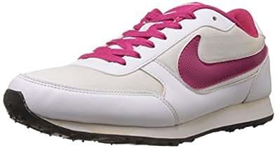 Nike Women's Eliminate White,Voltage Cherry Running Shoes - 7 UK/India (41 EU)(8 US)