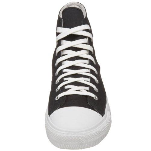 Demonia DEVIANT-101, Stivali donna nero/bianco