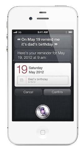 Apple iPhone 4S Smartphone (8,9 cm (3,5 Zoll) Display, 8GB Speicher, iOS) weiß