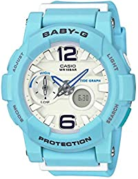 Casio Baby-g Analog-Digital White Dial Women's Watch - BGA-180BE-2BDR (BX078)