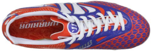 Warrior Skreamer Combat Firm Ground B, Scarpe da calcio bambino arancione (Orange (Spicy Orange/Baja Blue/White))