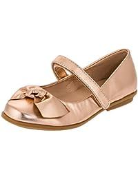 516f391b667a9 Dorémi Festliche Kinder Mädchen Ballerinas Schuhe für Partys und Freizeit  in Vielen Farben M297bz2 Bronze Gr