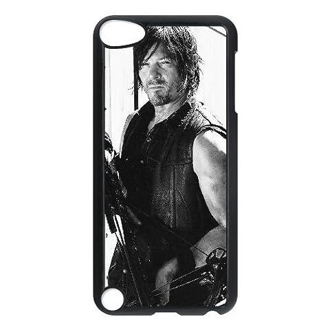 Daryl Walking Dead Staffel O5T35J4TC iPod Touch 5 Fall Hülle schwarz YBACLB (Staffel 4 Walking Dead)