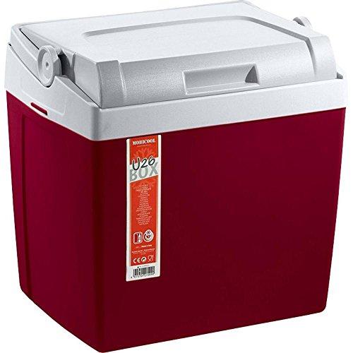 Mobicool U26 Kühlbox Passiv Rot, Grau 26l