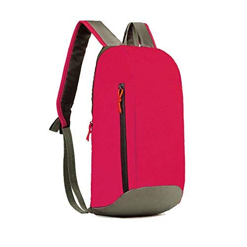 Jessboy  Mode Männer und Frauen leichte Outdoor-Reisetasche College-Umhängetasche farblich passende Farbe Kinder Schulter kleine Tasche -