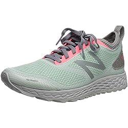 New Balance Fresh Foam Gobi, Zapatillas de Running para Asfalto para Mujer, Blanco (White Agave White Agave), 39 EU