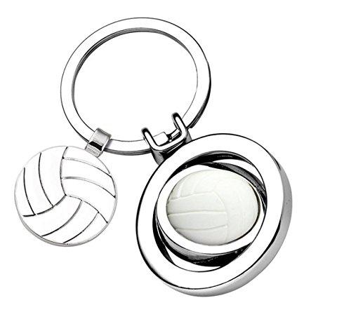 Ten Portachiavi Pallavolo Volley Ball con gettone cod.EL7837 cm 7,6x3,5x1,8h by Varotto & Co.