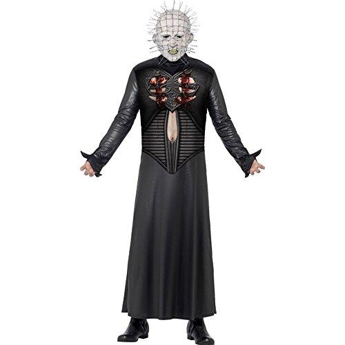 Smiffys Hellraiser 3 Herren Kostüm Pinhead Karneval Fasching Halloween Gr.M (Halloween Pinhead Kostüm)
