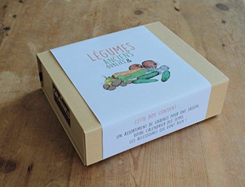 Coffret Cadeau de Jardinage/Box de Légumes Anciens et...