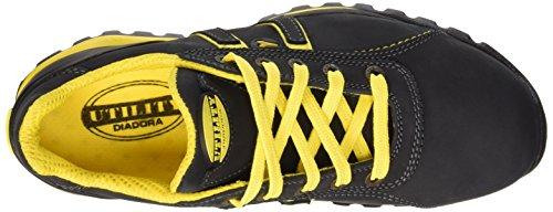 Diadora Glove II Low S3 HRO, Chaussures de Sécurité Mixte Adulte schwarz