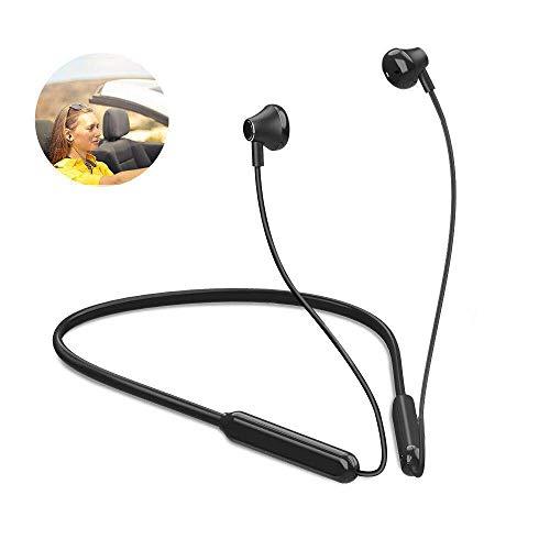 Auriculares deportivos Bluetooth con micrófono, inalámbricos, con bl