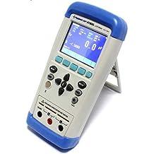 AT825 medidor digital portátil de alta precisión LCR 10 KHz L C R Q D Z Theta ESR TFT LCD Pantalla