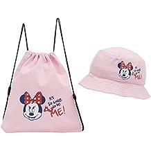 Genérico - Sombrero infantil minnie mouse rosa con bolsita talla 52