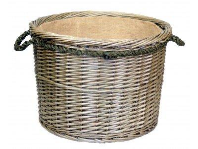 Wickerwarehouse - Ampliación de la Cuerda de la antigüedad de Lavado Cesta...