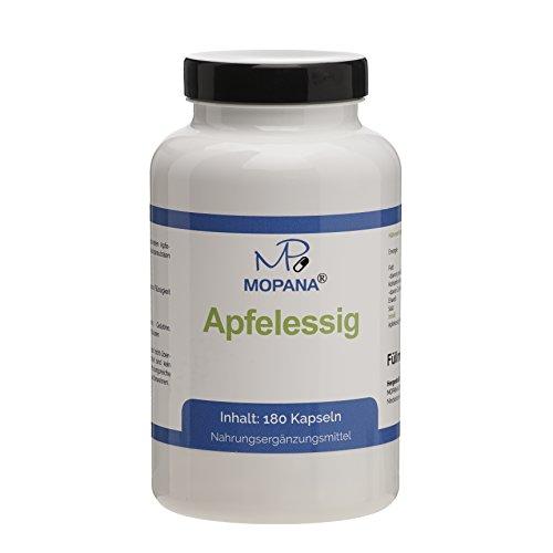 MOPANA Apfelessig Kapseln, 3-Monats-Packung, 495 mg Apfelessigpulver pro Kapsel