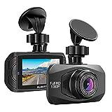 SUAOKI Dashcam Full HD Autokamera 1080P DVR mit 170° Weitwinkelobjektiv, G-Sensor,...
